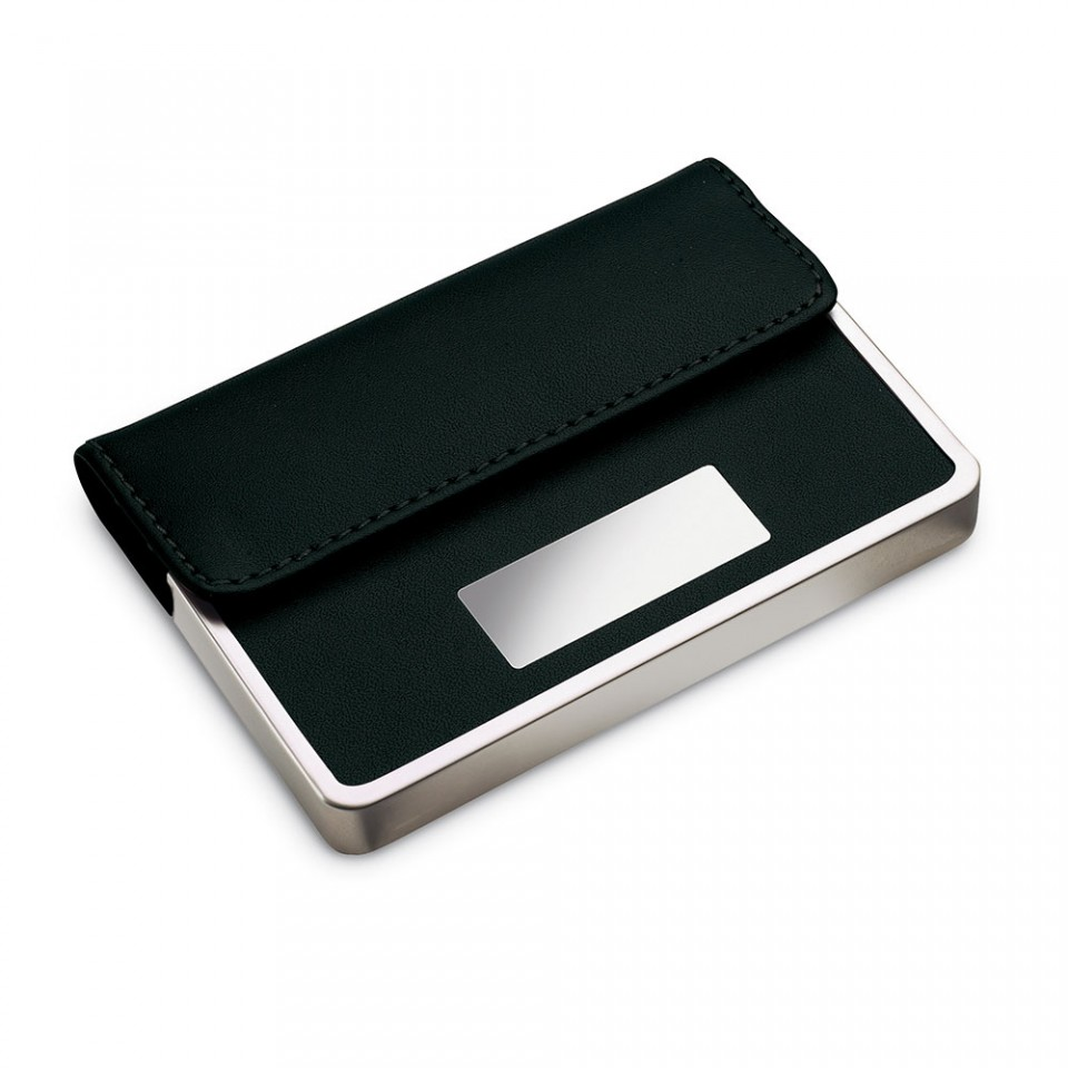 Swansea Business or Credit Card Case with Metal and