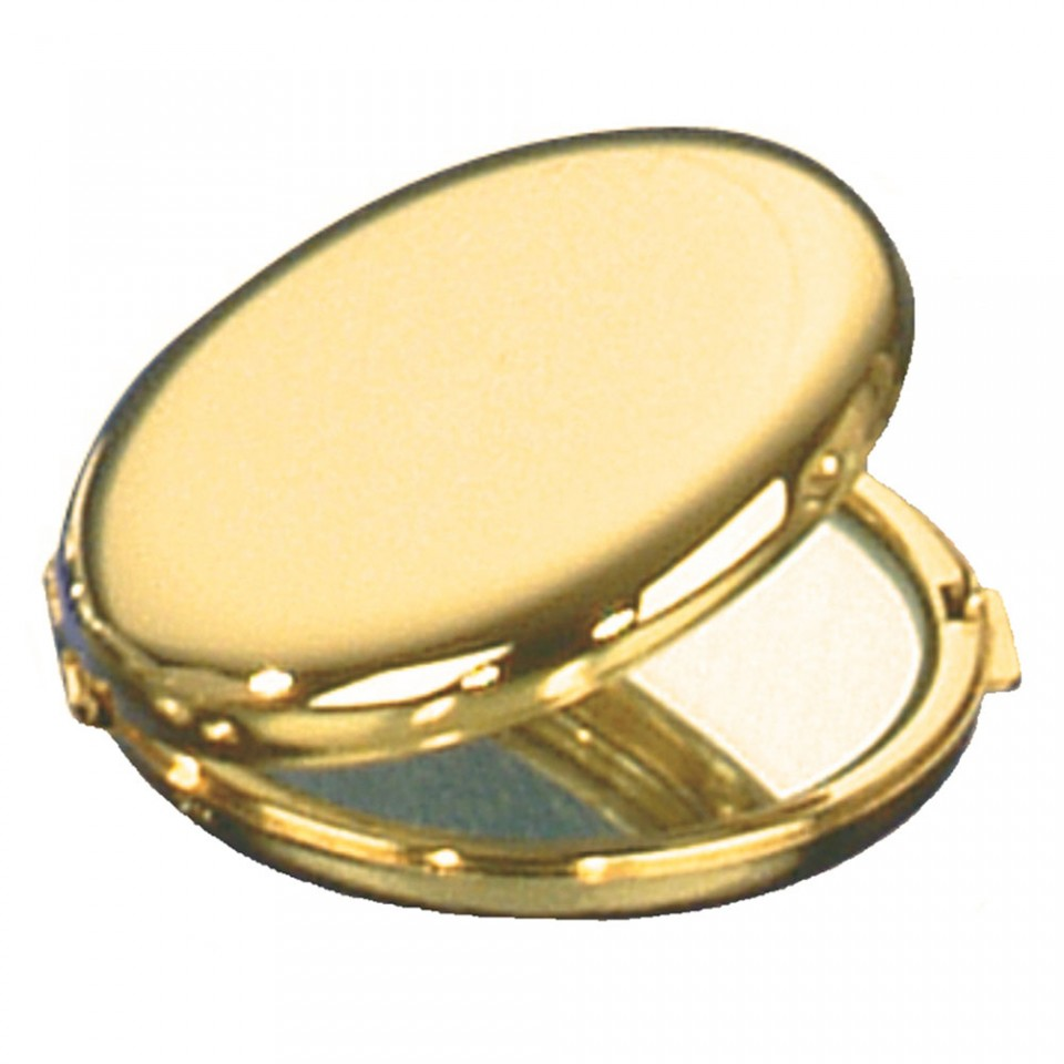Gold Plated Round Double Tartan Trader