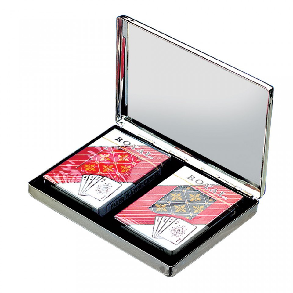 Silver Plated Playing Cards Tartan Trader