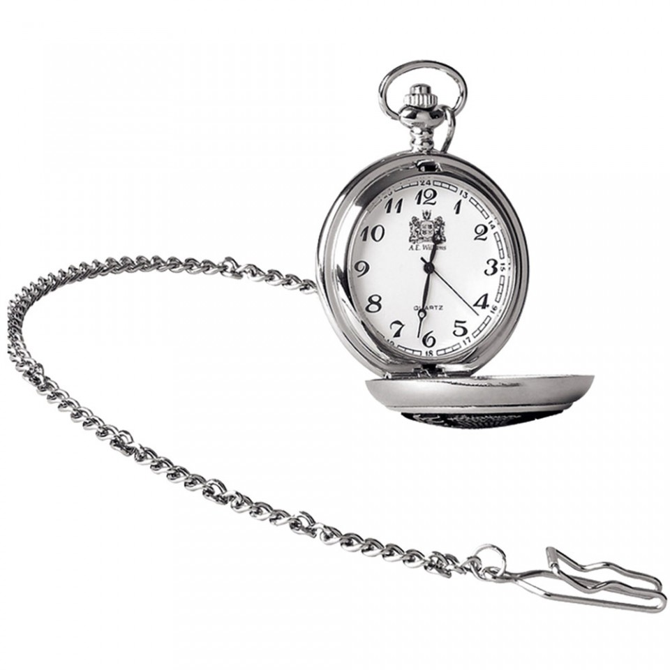 Half Hunter Pocket Watch - Tartan Trader