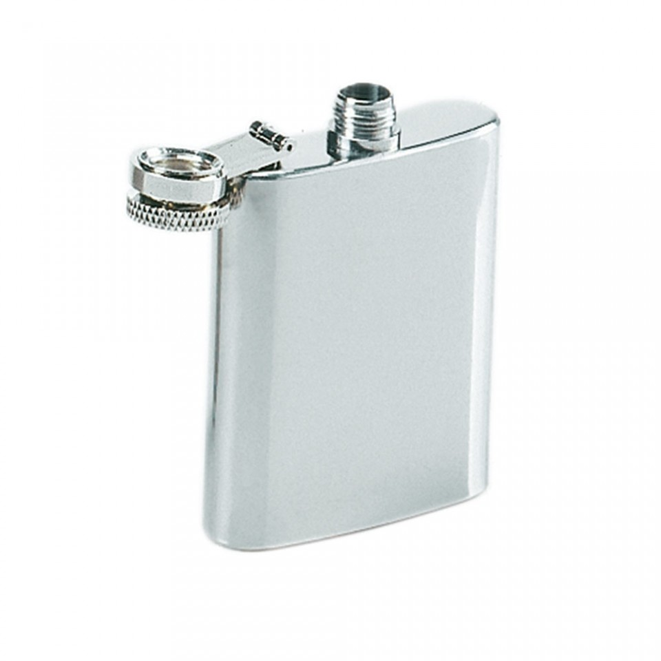 3oz Stainless Steel Hip Flask Tartan Trader